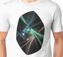 Fractal Convergence Unisex T-Shirt