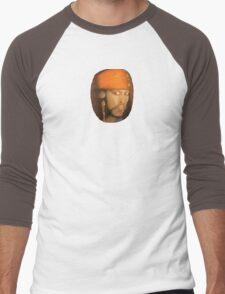 Captain Jack Sparrow - small version Men's Baseball ¾ T-Shirt