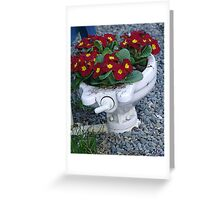 Potty Planter Greeting Card