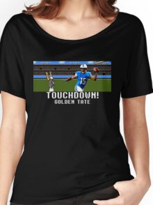 Tecmo Bowl Golden Tate Women's Relaxed Fit T-Shirt