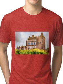 Delgatie Castle (near Turriff, in Aberdeenshire, Scotland) Tri-blend T-Shirt