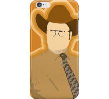 It's me, Gun Safety Dwight! iPhone Case/Skin