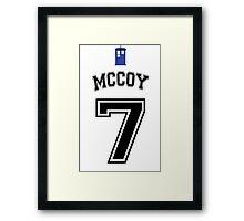 MY Doctor is Sylvester McCoy Framed Print