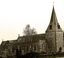 St Mary's Church, East Farleigh by Dave Godden