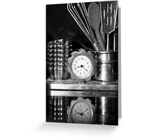 Time for cooking! Greeting Card