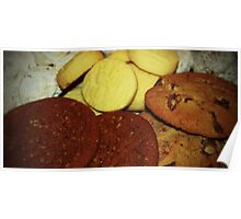 A Dish Full Of Cookies Poster