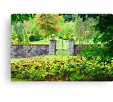 Leith Hall Gardens (Huntly, Aberdeenshire, Scotland) Canvas Print