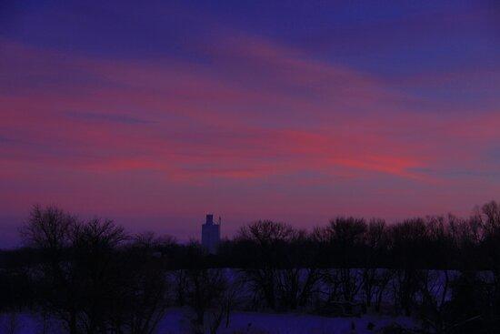 Prairie Home by Karen  Rubeiz