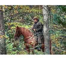 The Horseman Photographic Print