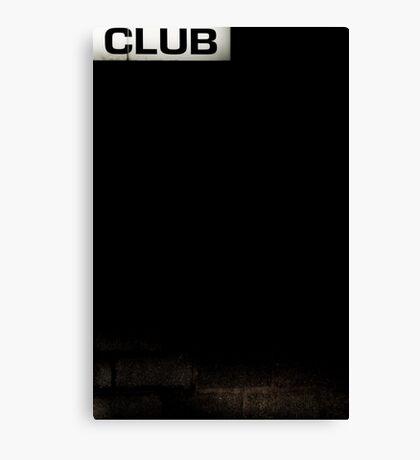 Club Canvas Print