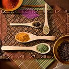 """Colorful Array of Spices"" by Whitney Mason"