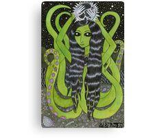 Tentacle Girl Canvas Print