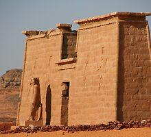 Temple at Wadi el Seboa by Laurel Talabere