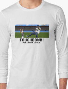 Tecmo Bowl Marshawn Lynch Long Sleeve T-Shirt