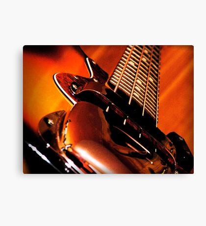Fender Jazz Canvas Print