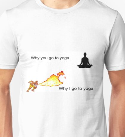 Street Fighter Yoga pic Unisex T-Shirt