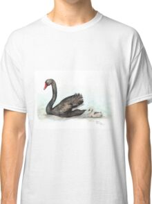 Black Swan and Cygnet Classic T-Shirt