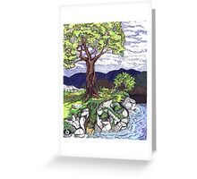 Earth Children Greeting Card