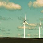 Windmills on the Plains by Chris Harlan