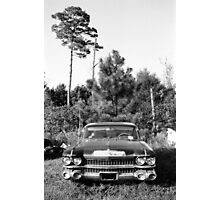 The End for a Cadillac Photographic Print