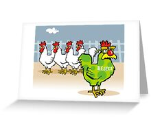 non-conformist Greeting Card