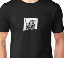 Queen of Clubs Unisex T-Shirt