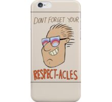 Respectacles iPhone Case/Skin
