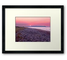 Atlantic Sunrise Framed Print