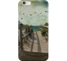 Seaside rendez-vous iPhone Case/Skin