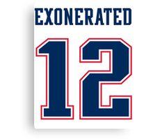 Brady Exonerated Canvas Print