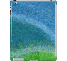 Dandelions in the Mower digital abstract painting iPad Case/Skin
