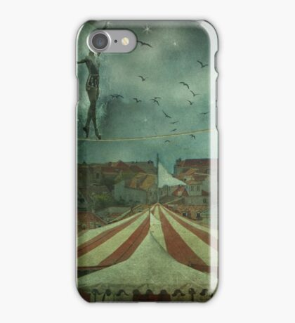 When the circus came to town... iPhone Case/Skin