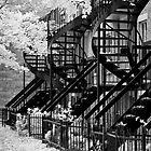 Montreal Balcony by olga zamora