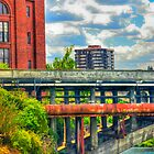 """Post Street Bridge - Spokane, WA"" by Whitney Mason"