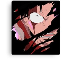 one piece luffy gear second anime manga shirt Canvas Print