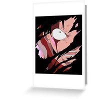 one piece luffy gear second anime manga shirt Greeting Card