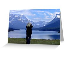 Capturing Paradise Greeting Card