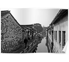 Old Waterways Poster