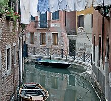 Venetian Laundry by Debbie Lucas