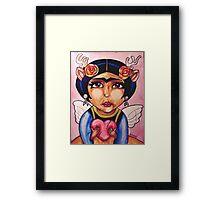 Frida : Wings Framed Print