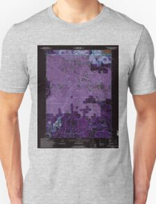 USGS Topo Map California Beaver Mountain 100272 1993 24000 Inverted T-Shirt