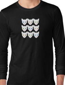 White Cats Long Sleeve T-Shirt