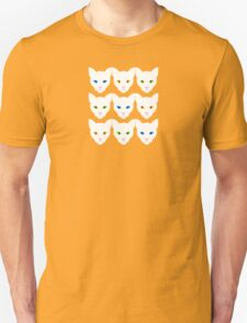 White Cats Unisex T-Shirt