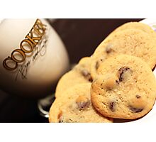 Cookies & Milk Photographic Print
