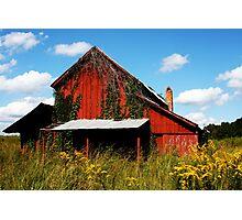 Old Barn Photographic Print