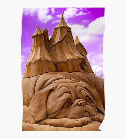 """""""Sculptures in sand""""  Poster"""