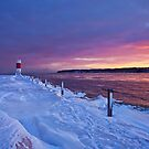 Lake effect sunrise - Rochester NY by mindrelic