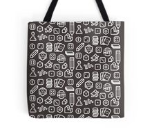 Board Game Pieces – Inverted Tote Bag
