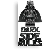 Dark side lego Canvas Print
