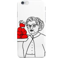 Robin Williams as Mrs. Doubtfire iPhone Case/Skin